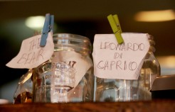 Peck 47 Cafe tip jars