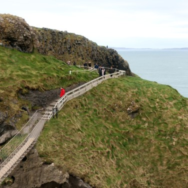 This rope bridge