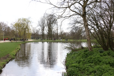 Vondelpark is beautiful and relaxing