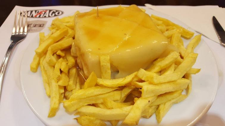 Francesinha from Santiago