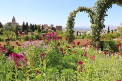 View from the Alhambra gardens