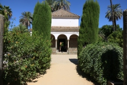 Inside the Alcazar
