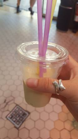 Horchata from a market